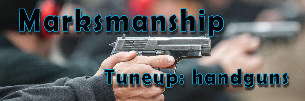All about our marksmanship coaching on handguns